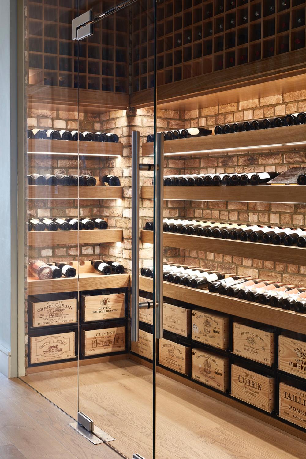 идеи винной комнаты