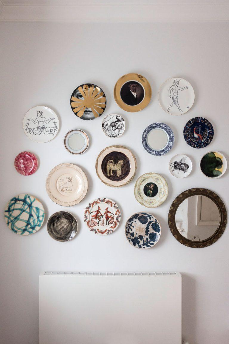 идеи стен галереи с пластиной стены