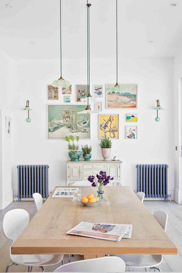 Идеи стен галереи с пастельной стеной галереи