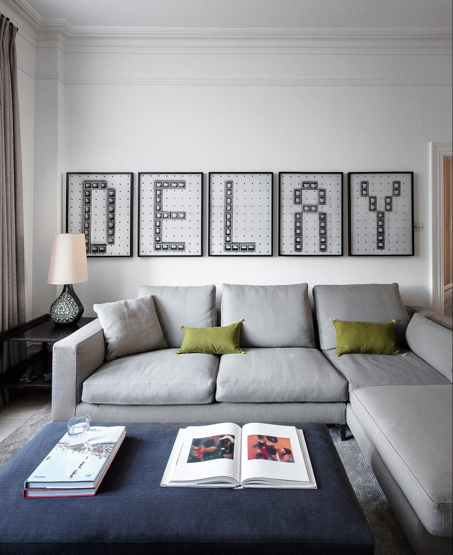 идеи стен галереи